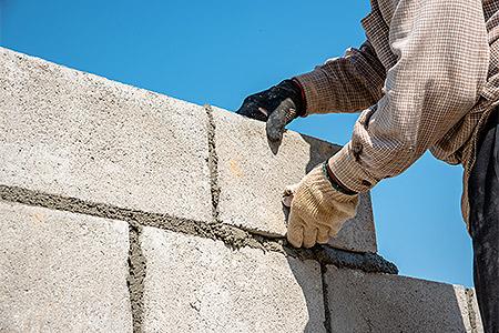 lava rock for concrete applications