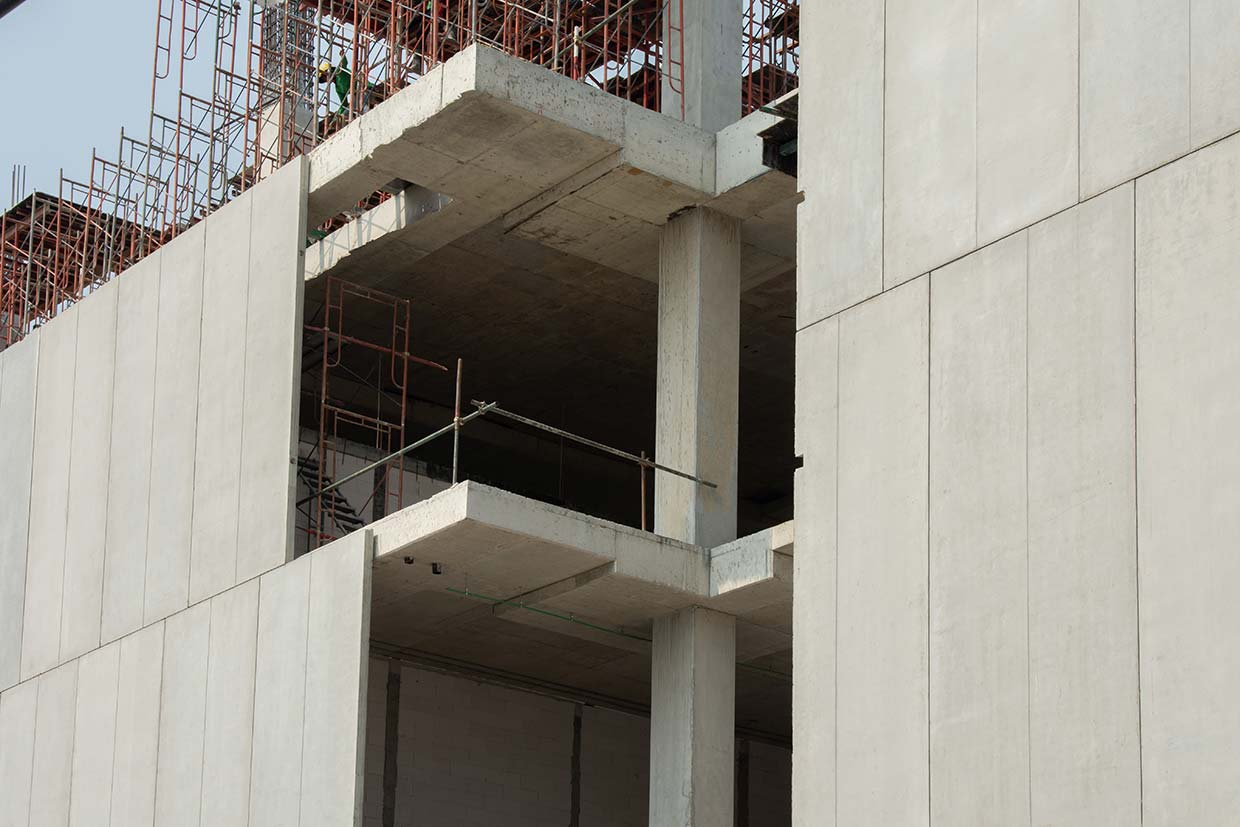 concrete application of volcanic lightweight products